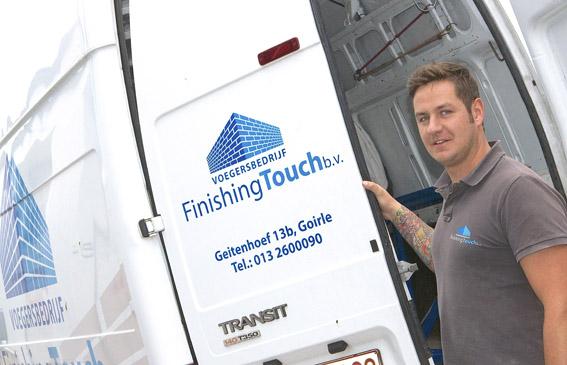 Voegersbedrijf Finishing Touch - Jurgen Pijpers