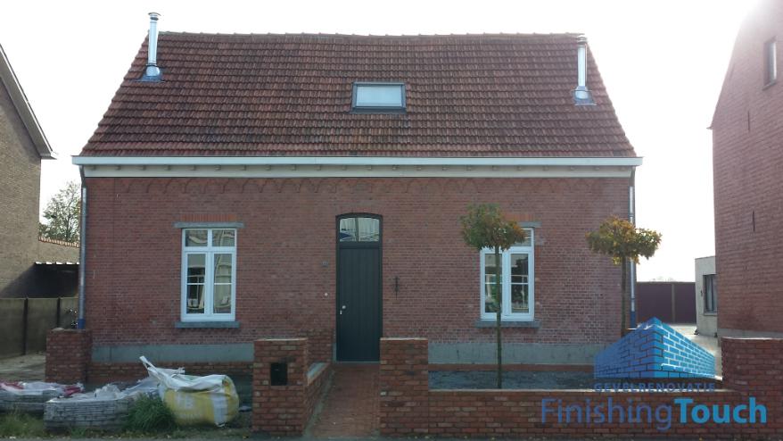 Complete gevelrestauratie in Weelde (België)