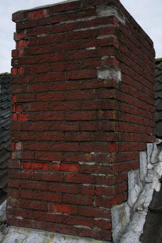 Schoorsteen Renovatie - VOOR