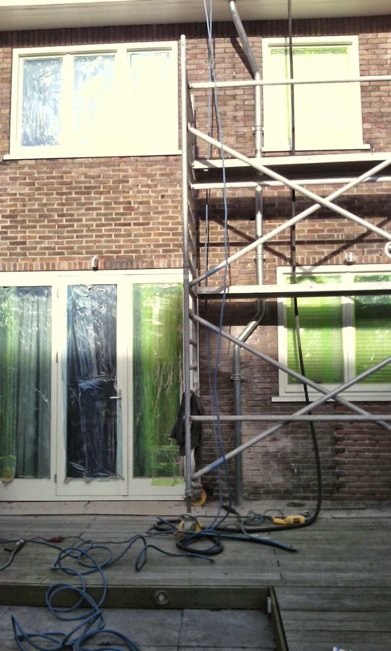 Gevelrenovatie in Breda - Scheurherstel Voegen - Voegersbedrijf