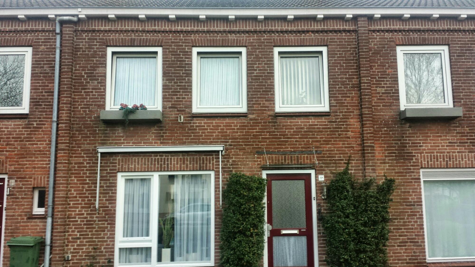 Gevelrenovatie in Den Bosch